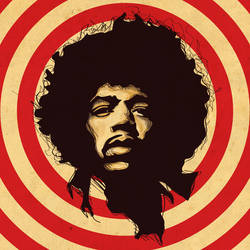Jimi Hendrix by under18carbon