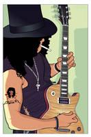 ::Slash of Guns N' Roses:: by under18carbon