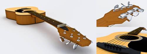 guitar 3D by JMou
