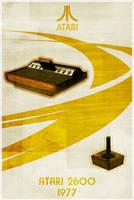 Atari 2600 - Retro Poster by Euskera