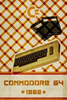 Commodore 64 - Retro Poster by Euskera