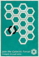 Imperial Propaganda Poster Ver. 2 - Star Wars by Euskera