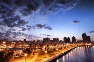 city new day.. by tarekjajeh