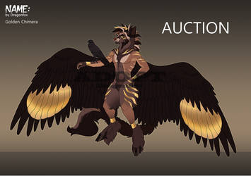 SALE Adopt Golden Chimera CLOSED!! by DragonFoxAdopts