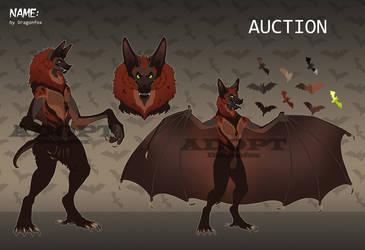 SALE Adopt AUCTION Werebat CLOSED!!! by DragonFoxAdopts