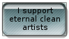 Clean artists for eternity by Stormourner