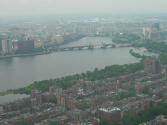 Boston From Above by Solarfox123
