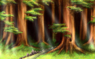 -speedpaint- Giant Forest by Zaema