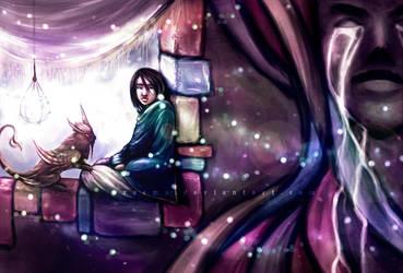 childhood fireflies by Zaema