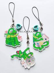 Kermit Charms by p-l-u-m-b-u-m