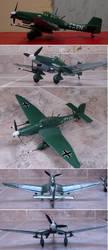 Junkers Ju-87G-2 by DingoPatagonico