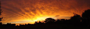 The Sky is on fire by DingoPatagonico