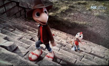 Finally saw the movie of Condorito by DingoPatagonico