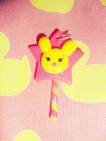 the rabbit star lollipop by Druovna