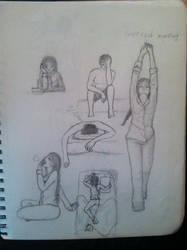 Sleepy Heads Sketchdump by DevilRena