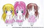 CG: Reina, Kana and Freya by shizuneyuki8720