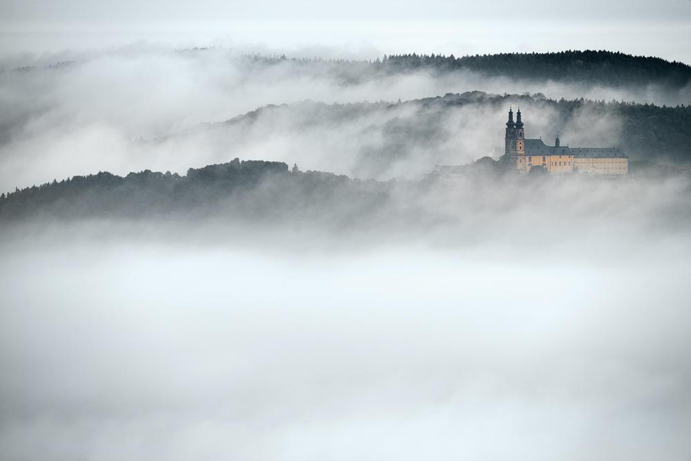 Banz Abbey by mescamesh