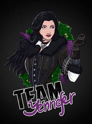 Team Yennefer by ShackleArt