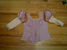 Rapunzel Bodice Half by AllenGale