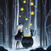 Secret forest by minayuyu