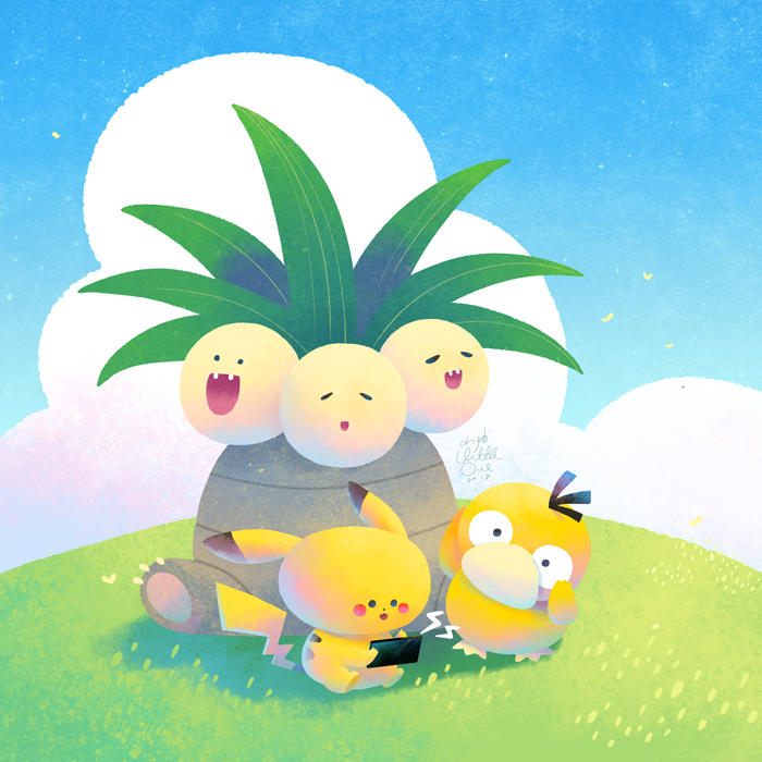 Pokemon Quest by minayuyu
