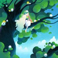 Tree fairy by minayuyu