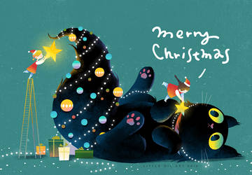 christmas fairies by minayuyu