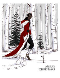 Christmas Nomad by ZarathePirate