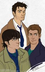 Supernatural Boys by ZarathePirate