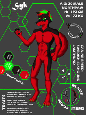 Syk Reference Sheet by GeckoZY