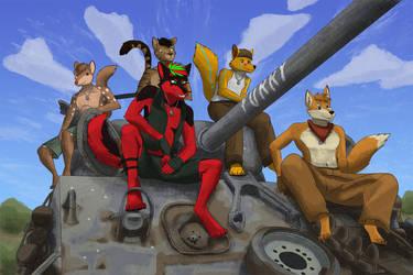 Furry Fury by GeckoZY
