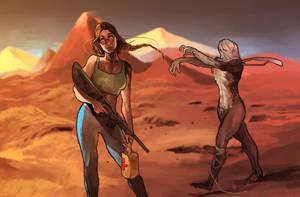 Tomb Raider 20th anniversary by adamlara