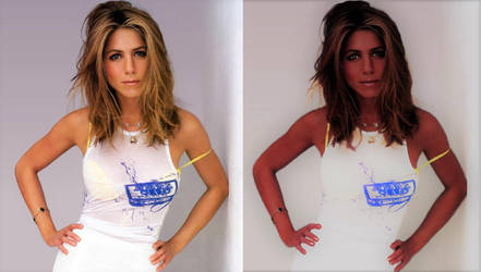 Jordanian Jennifer Aniston by freakydughter