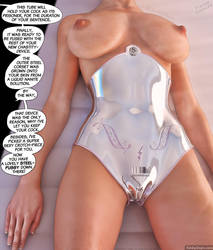 Chastity-Corset - Preview Comic#2 by KinkyDept