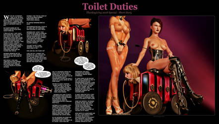 Thanksgiving 2018 Special - Toilet Duties by KinkyDept