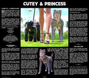 Cutey and Princess - Page1-of-2 - Short Story by KinkyDept