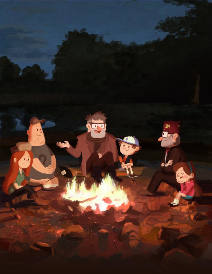 Campfire by markmak
