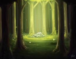 Forest Light by Xelgot