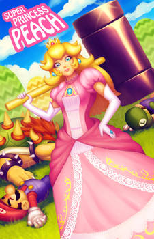 Super Princess Peach by Xelgot