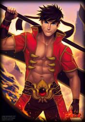 Flame Lord Ne Zha by Xelgot