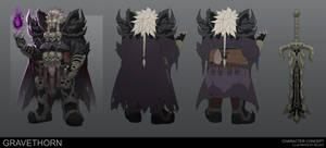 Commission: Gravethorn by Xelgot
