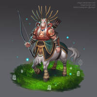 Mononoke Chiron by Xelgot