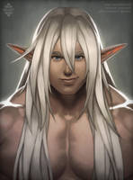 Commission: Ryo portrait by Xelgot