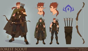 Forest Scout by Xelgot