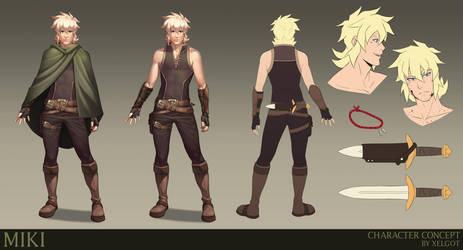 Miki Concept Art by Xelgot