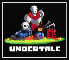 The Undertale Trio by Renic-Pai