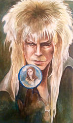 Labyrinth Tarot- 1 The Magician by silvermoon822