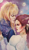 Labyrinth Tarot- 6 The Lovers by silvermoon822