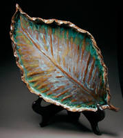 Leaf Plate by starglo21