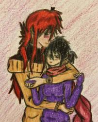 Cuddle love by dark-magi976